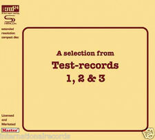 """""""A Selection From Test-Records 1, 2 & 3"""" Opus Records JVC SHM-XRCD XRCD24 CD New"""