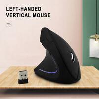 Souris optique ergonomique verticale sans fil 2.4G 5 boutons pour PC Laptop FR