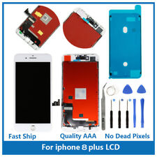 "iPhone 8 Plus 5.5"" Replacement 3D Touch Screen LCD Digitizer Display White Tools"