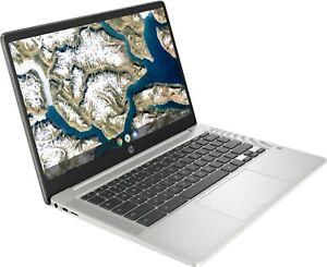 "HP 14"" Chromebook - Intel Celeron - 4GB Memory - 32GB eMMC - Mineral Silver NEW"