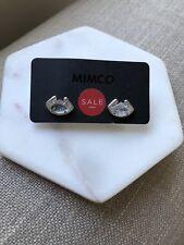 BNWT MIMCO Afloat Stud Earrings IN Alabaster RRP$59.95
