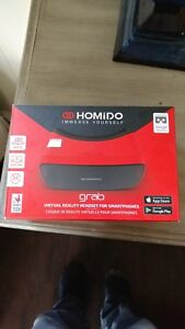 Homido 3D VR glass with VR Lens Homido Grab Virtual Reality Headset for VR Games