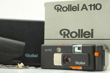*As Is* Vintage Rollei A110 110 Subminiature Tessar F2.8 23mm Lens in Case #122