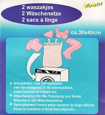 Wäschenetze 30x40 Cm Wäschenetz Wäschesack Reisverschluss Beutel X