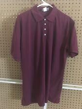 Women's Polo Shirt - 3XL - Burgundy - Eco Friendly