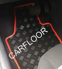Für Fiat 500 X ab 01.15 Gummifußmatten Fußmatten verschiedene farbige Einfassung