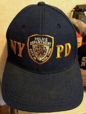 New York Police Department VTG BLUE BASEBALL CAP