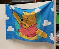 Vintage 1-Disney Winnie the Pooh and Piglet Too Standard Pillowcase Clouds