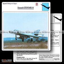 #011.13 DASSAULT ETENTARD IV (4) - Fiche Avion Airplane Card