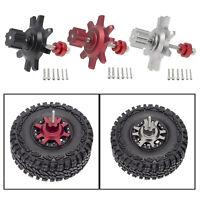 "Metal 1.9/2.2"" Beadlock Wheel Hub Rims for 1/10 Scale RC Crawler Accessories"