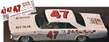 CD_999 #47 A.J. Foyt Holly Farms '65 Ford  1:64 Scale Decals ~OVERSTOCK~