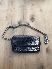 HTC Hollywood Trading Company Studded Biker Wallet