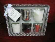 NEXT LUXE COLLECTION OF 6 FRAGRANCED CANDLES - NEW & BOXED