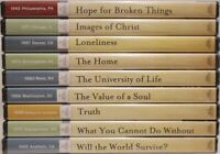 The Billy Graham Library Classics Sermons Collection Set of 9 Brand NEW DVDs