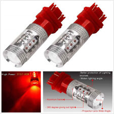 1 Pair 3157 LED Red Light Car/Boat/RV Tail Brake Stop Turn Signal Light 12-24V