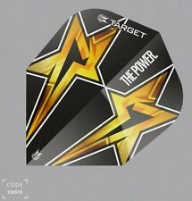 Target Phil Taylor Power Star Standard Gen 3 Flights 100 Micron Black N06 9 Sets