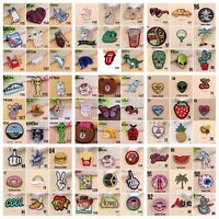 Sew On or Iron On Craft DIY Embroidered Patch Badge Bag Clothes Fabric Applique
