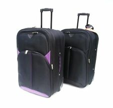 Unisex Adult Synthetic 40-60L Upright (2) Wheels Suitcases