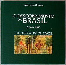 s1786) Portugal Special book O Descobrimento do Brasil The Discovery of Brazil