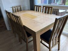 dining table and chairs 6 used