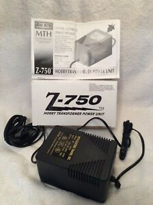 MTH   RAILKING    Z 750    75 W POWER TRANSFROMER    NEW ORIGINAL
