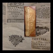 MEDICINA - Tissot : Trattato della Epilessia dei Nervi e loro Malattie - 1772