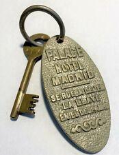 Rare & Vintage Palace Hotel Room Key Fob, Madrid, Spain #104