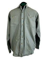 A Genuine Filson Garment by C.C. Filson Co Men's 100% Wool Plaid Shirt Size L