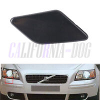 Primed Front Right Driver Headlight Washer Cover Cap For 2008-2012 VOLVO S40 V50
