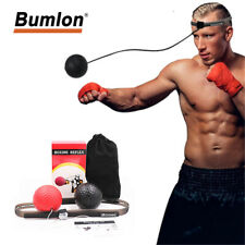 Boxing Punch Exercise Fight Ball Reflex Speed With Head Band String Training