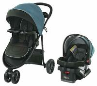 Graco Baby Modes 3 Lite DLX Travel System Stroller with Infant Car Seat Remi