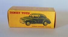 Repro Box Dinky Nr.159 Morris Oxford Saloon grün und beige