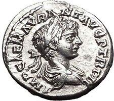 CARACALLA  Laodice ad Mare mint: 198AD Silver Ancient Roman Coin SPES  i55600