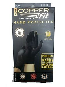 New Sealed Copper Fit Hand Protector Compression Gloves Large - XL Touchscreen
