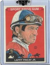 AWESOME 2010 SPORT KINGS LAFFIT PINCAY JR. CARD #188 ~ JOCKEY ~ HORSE RACING
