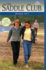 Horse Spy (Saddle Club)-ExLibrary