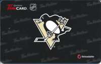 2012 Tim Horton's  Pittsburgh Pebguins  online Tim Card FD 27318 Series 6076