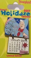 Disney Dlr 2007 Holidaze Calendar January Fairy Godmother Cinderella Le 1000 Pin