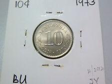 Malaysia 10 Sen coin (1973) - BU