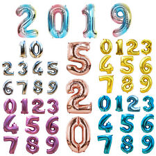 "32"" 40"" Foil Letter Number Balloons Birthday Courtship Wedding Party Decoration"