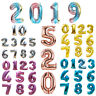 """32"""" 40"""" Foil Letter Number Balloons Birthday Courtship Wedding Party Decoration"""