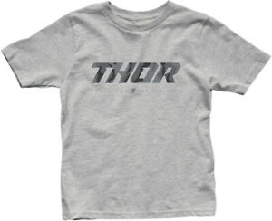 Thor 2020 Youth Boys Loud 100% Cotton T-Shirt Heather Gray Camo All Sizes