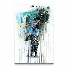 "LORA ZOMBIE ""Love Shock"" signée (street art, pop art, banksy graffiti )"