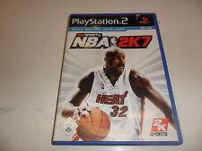 PlayStation 2 PS 2 nba 2k7