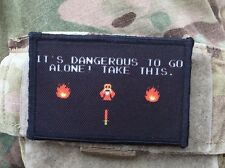 Legend of Zelda Morale Patch It's Dangerous to Go Alone Take This Tactical ARMY