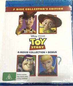 TOY STORY (4 Movie Collection + Bonus) (Blu Ray 2019)