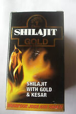 Dabur Shilajit Gold Pack of 10 x 3 with Gold And Kesar.