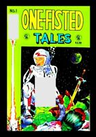 ONE-FISTED TALES #1, 1990, SLAVE LABOR GRAPHICS, UNDERGROUND COMIC