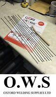 Aluminium Welding Brazing + Soldering Low Temp Durafix Easyweld UK Rods + Brush