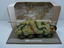 BL4H atlas IXO 1/43 Blindés WW2 : SdKfz 234/2 Puma blindés lourd 8 roues